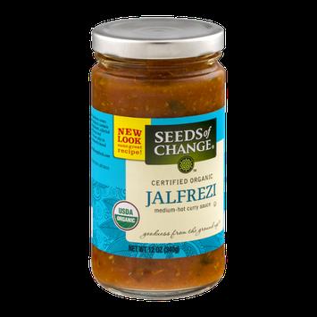 Seeds of Change Organic Jalfrezi Curry Sauce Medium-Hot