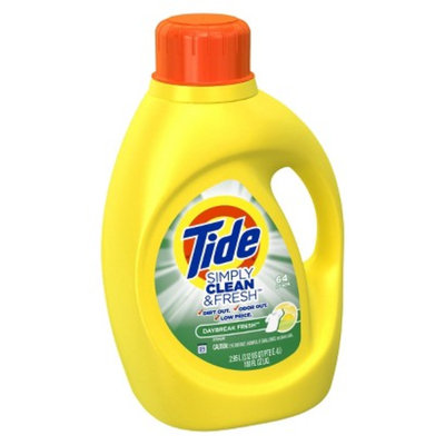Tide TIDE SIMPLY C&F 100OZ/64LD LQ DF