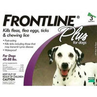 Frontline For Dogs And Puppies 45-88 Lb 3Pk