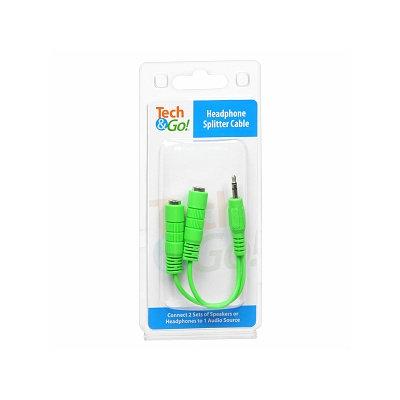 Tech & Go Headphone Splitter Cable