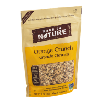 Back to Nature Clusters Orange Crunch Granola