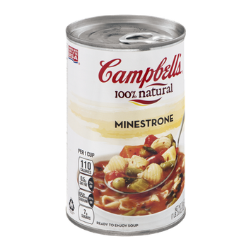 Campbell's® 100% Natural Soup Minestrone