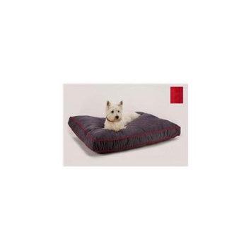 Dog Gone Smart Nanosuede Rect Dog Bed MD Red