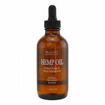 Measurable Difference 7348 Hemp Oil Instant Face & Body Moisturizer
