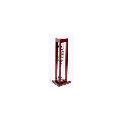 G. W.  Schleidt YG924-C 15 inch Multicolor Galileo in Cherry Finish Triangle Wood Stand