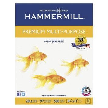 Hammermill Premium Multipurpose Paper, 20 lb - White (5000 Per Carton)