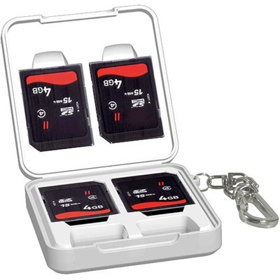 Vanguard SD Memory Card Case, Holds 6