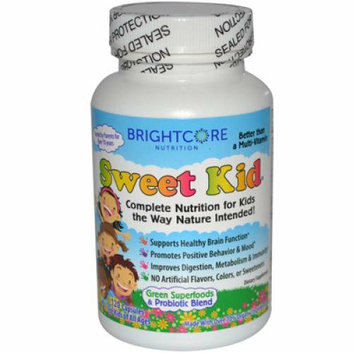 Sweet Wheat Sweet Kid Green Superfoods and Probiotic Blend 120 Caps