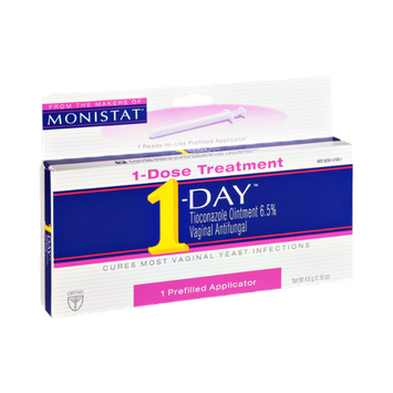 1-Day Vaginal Antifungal Prefilled Applicator 1-Dose Treatment