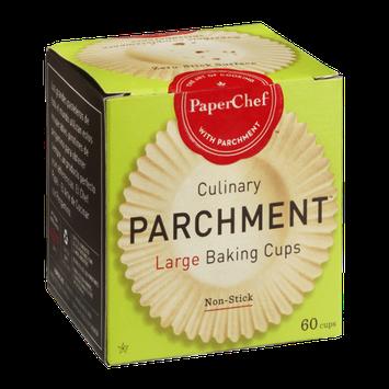 PaperChef Parchment Large Baking Cups - 60 CT