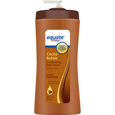 Equate Beauty Equate Cocoa Butter Conditioning Body Lotion, 24.5 fl oz