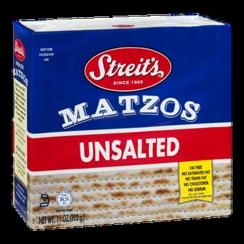 Streit's Matzos Unsalted