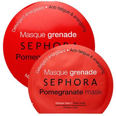 SEPHORA COLLECTION Pomegranate mask - Anti-fatigue & energizing 0.84 oz