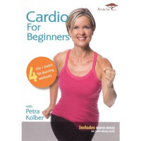 Acorn Media Cardio for Beginners With Petra Kolber - Widescreen - DVD