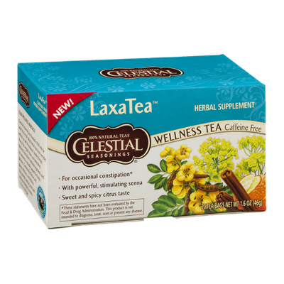 Celestial Seasonings® LaxaTea Wellness Tea Caffeine Free