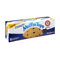 Entenmann's Blueberry Muffin Tops - 6 CT