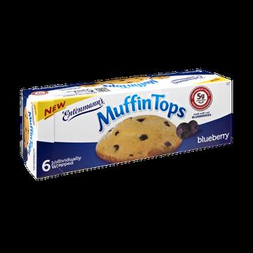 Entenmann's Blueberry Muffin Tops - 6 CT