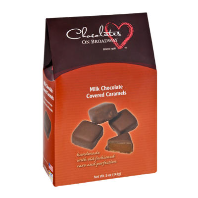 Chocolates on Broadway Milk Chocolate Covered Caramels