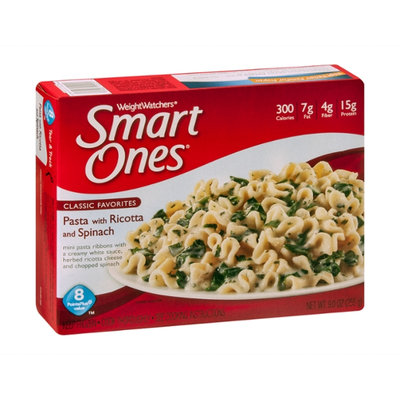 Weight Watchers Smart Ones Classic Favorites Pasta with Ricotta and Spinach