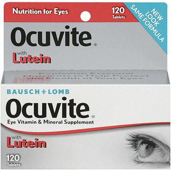 Ocuvite W/Lutein Antioxidants & Zinc Tablets Vitamin & Mineral Supplement