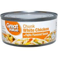 Wal-mart Stores, Inc. Great Value Chunk White Chicken in Fajita Flavored Sauce, 10 oz