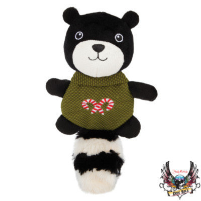Bret Michaels Pets RockTM Skunk Flattie Dog Toy