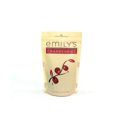 Emilys Emily's Dark Chocolate Covered Cranberries 5oz