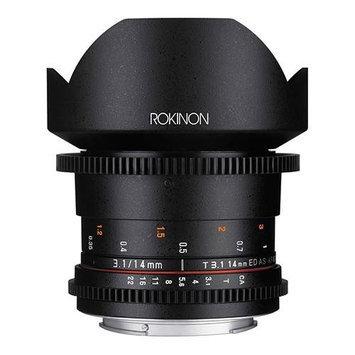 Rokinon DS14MN Ds14m Camera Lens Cine Super Wide Angel For Nikon