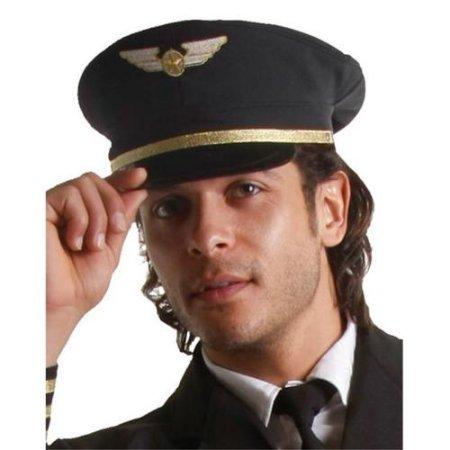 Dress Up America 401-A Adult Pilot Hat