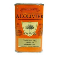 A L'Olivier Toasted Rapeseed Oil Tin 8.3 oz