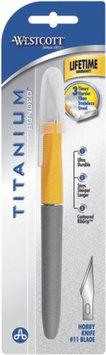 Westcott Titanium Cushion Grip Hobby Knife 11 Blade
