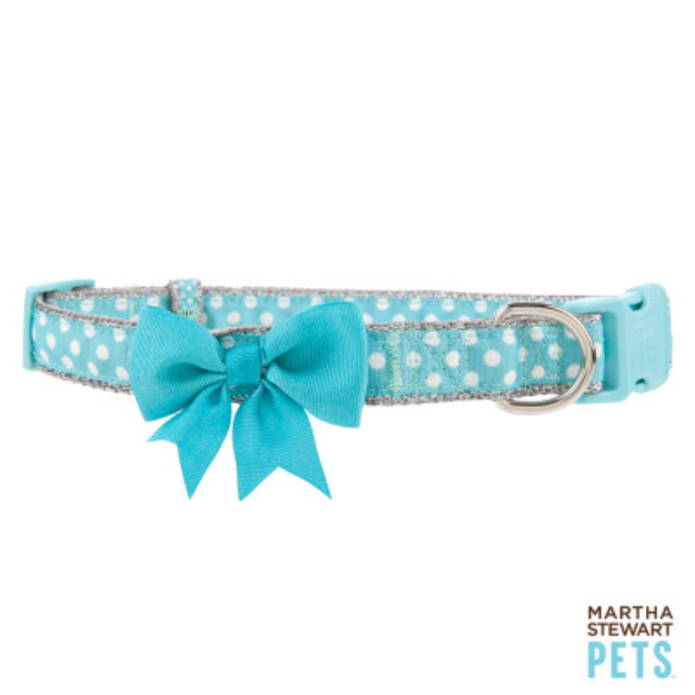 Martha Stewart PetsA Polka Dot Dog Collar