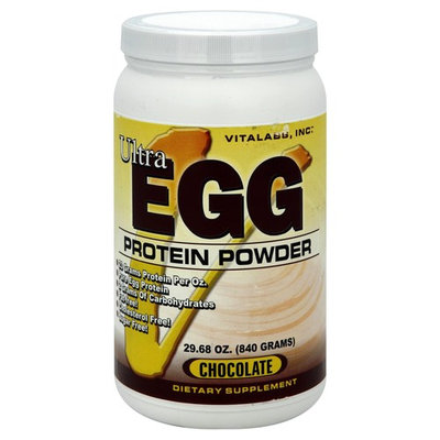 Ultra Egg Protein Powder 29.68 oz Chocolate by Vitalabs