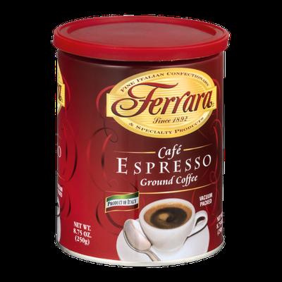 Ferrara Cafe Espresso Ground Coffee