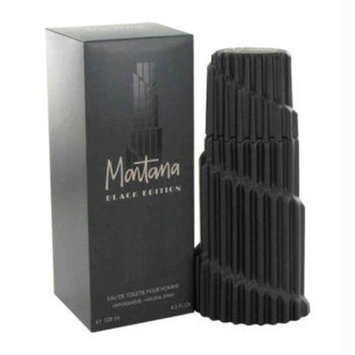Montana Black Edition by Montana Eau De Toilette Spray 4.2 oz