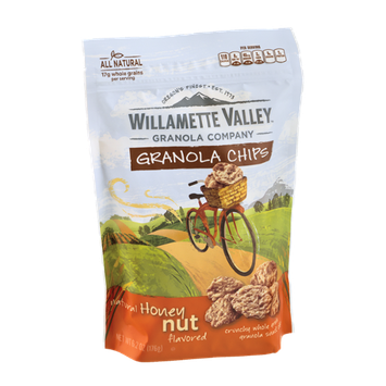 Willamette Valley Granola Chips Natural Honey Nut