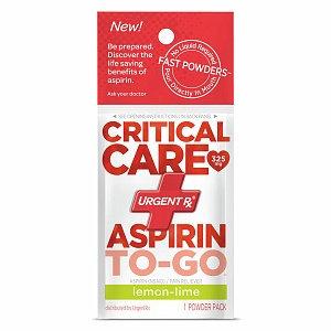UrgentRx Critical Care Aspirin to Go Powders