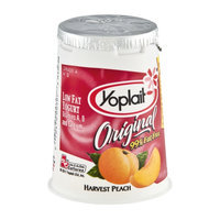 Yoplait® Original Fat Free Harvest Peach Low Fat Yogurt