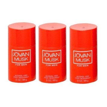 Coty Jovan Men's Musk Deodorant - 3 Sticks (3 oz)