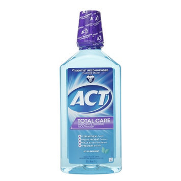 Act Total Care Mouthwash - Icy Clean Mint (33 oz.)