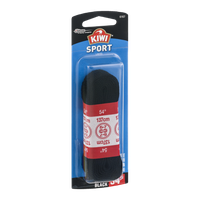 Kiwi 54'' Sport Laces Flat Black - 1 CT