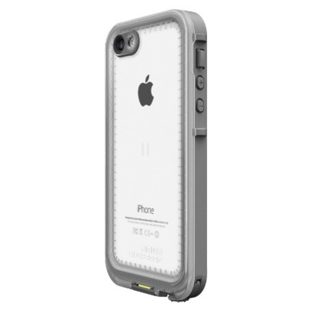 LifeProof Lifeproof Fre Cell Phone Case for iPhone 5C - White/Gray (2001-02)