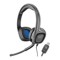 Plantronics Audio 655 DSP USB Stereo Corded Headset