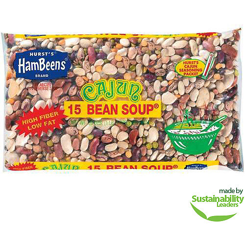 Hurst's HamBeens : w/Seasoning Packet Cajun 15 Bean Soup, 20 Oz