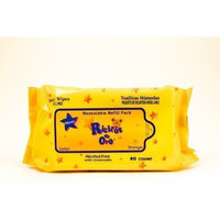 Baby WIPES Ricitos de Oro Grisi 80 Count Chamomile - Hypoallergenic Alcohol Free