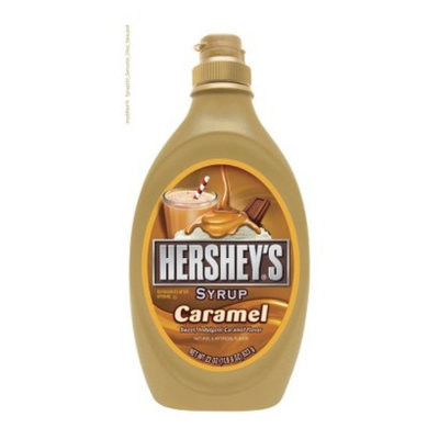 Hershey's Caramel Syrup - 22 oz. Squeeze Bottle