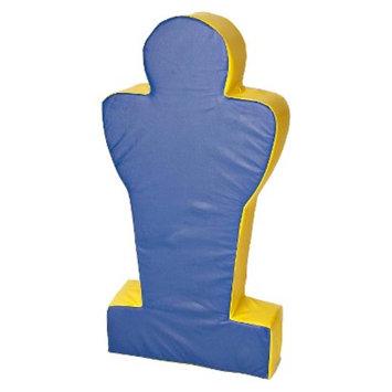 Foam Heads foamnasium Large Foam Man Play Toy - Red/Blue/Yellow