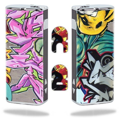 MightySkins Protective Vinyl Skin Decal Wrap for Eleaf iStick Vapor Mods Pen Vape Cover Sticker Skins Graffiti Wild Styles