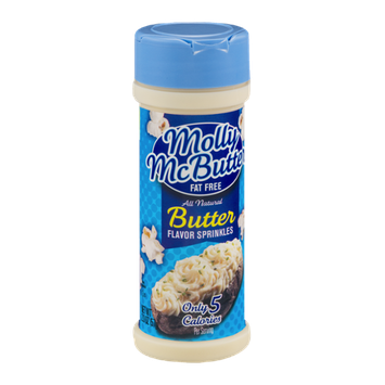 Molly McButter Fat Free Butter Flavor Sprinkles