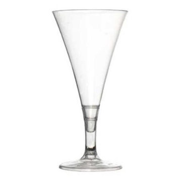 Fineline Settings 6414-CL Clear Tiny Champagne Flute- 2 Oz. - 2 Pc